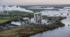 The west Offaly power station, in Shannonbridge, Co Offaly, had sought permission to continue to burn peat past a December 2020 deadline until 2027, while it transitioned to rely on biomass fuel. File photograph: Brenda Fitzsimons