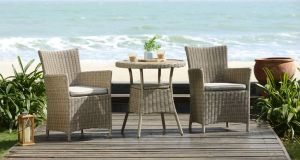 Win a two seater Martinique bistro set and a Weber barbecue from Powerscourt Garden Pavilion