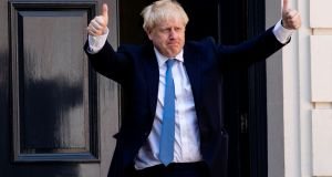 Boris Johnson: has always been able to deal with facts he does not like by inventing his own ones. Photograph: Leon Neal/AFP/Getty Images