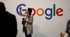 Google has agreed to pay $11m to end a lawsuit accusing the internet giant of discriminating against older job applicants. Photograph: Charles Platiau/Reuters