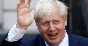 Boris Johnson's win is the culmination of three years of whispering in the corridors of Westminster about his ambitions. Photograph: Henry Nicholls/Reuters