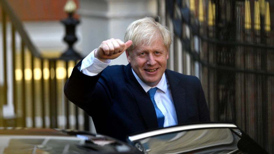 Incoming British prime minister Boris Johnson described implementing EU decisions with no UK voice in how they are made as 'vassalage' and 'incarceration'. Photograph: Neil Hall/EPA