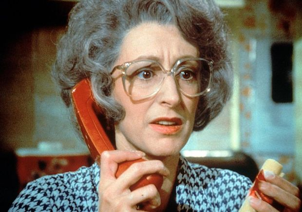 'People wet themselves over it' ... Maureen Lipman as Beattie. Photograph: British Telecom