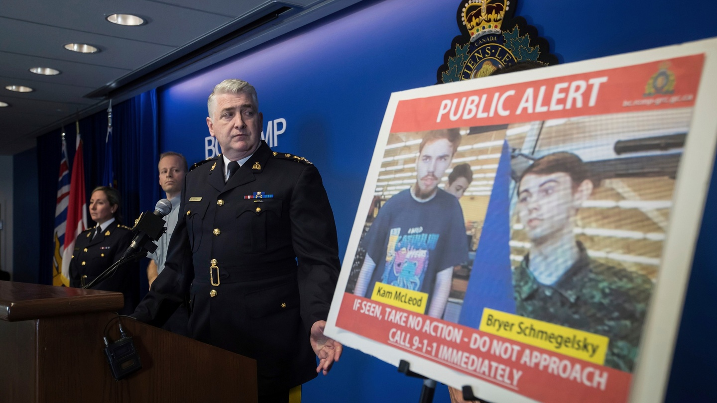 Teens thought missing named as suspects in Canadian highway murders