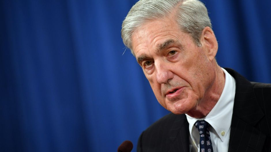 Special counsel Robert Mueller, who headed the  investigation into Russian meddling in the 2016 election. Photograph: Mandel Ngan/Getty Images