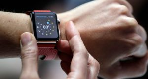 The Apple Watch was initially positioned as a luxury, but it soon became clear that its true appeal was functional. Photograph: AP
