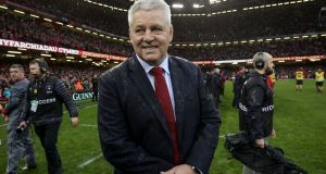 The Rugby World Cup will be Warren Gatland's Wales swansong. Photograph: Dan Sheridan/Inpho