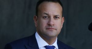 Taoiseach Leo Varadkar. 'We look forward to an early engagement to talk about Brexit, to talk about Northern Ireland and to talk about bilateral relations between the UK and Ireland into the future.' Photograph: Stephen Collins/Collins Photos