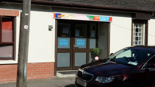 Hyde & Seek Childcare, Tolka Road, in Dublin, was formerly known as Giggles Creche and Montessori. Photograph: Dara Mac Dónaill