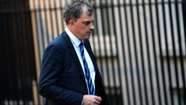 Former chief whip Julian Smith becomes Northern Ireland secretary. Photograph: Neil Hall/EPA