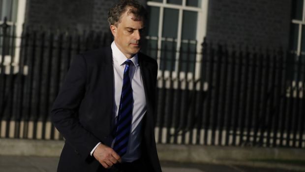 Former chief whip Julian Smith is the new Northern Ireland secretary. Photograph: Tolga Akmen/AFP/Getty Images