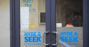 The Hyde & Seek creche on Shaw Street in Dublin's City Centre. Photograph: Gareth Chaney/Collins