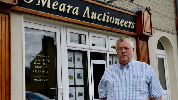 Longford estate agent James O'Meara. The announcement four years ago had an immediate impact on a moribund property market. Photograph: Ronan McGreevy