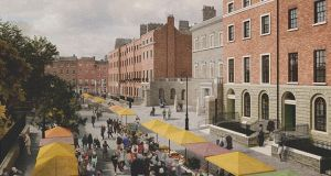 An impression of the Parnell Square Cultural Quarter