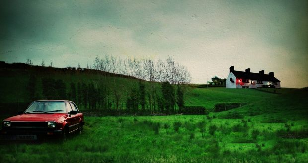 A reconstruction of the scene of the Loughinisland massacre in No Stone Unturned.