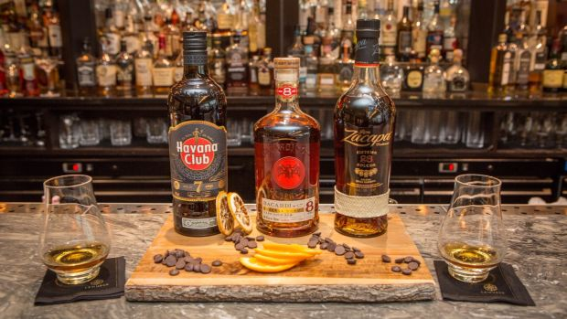 Thursdays are rum nights at Lemuel's bar at the Conrad hotel in Dublin