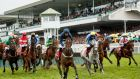 The Galway Racing Festival: last year's total attendance fell   to 132,691. Photograph:  James Crombie/Inpho