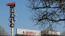 Vodafone plans to create a separate European mobile masts company. Photograph: Fabrizio Bensch/Reuters