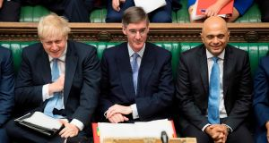 Leader of the House of Commons: Jacob Rees-Mogg in parliament. Photograph: Jessica Taylor/UK Parliament/AFP/Getty