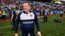 Davy Fitzgerald: his Wexford side have only conceded two goals en route to the All-Ireland semi-final against Tipperary. Photograph: Gary Carr/Inpho