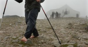 File image of  pilgrims climbing Croagh Patrick, Co Mayo. Photograph: Dara Mac Dónaill/The Irish Times