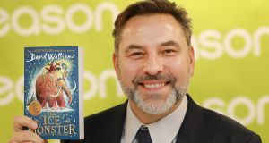 David Walliams  in Eason's flagship O'Connell Street store in Dublin, where he was signing copies of his book The Ice Monster. Eason has reworked its books offering in the hope of attracting more customers into its stores. Photograph: Julien Behal Photography
