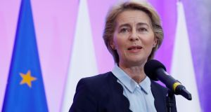 "The election of Ursula von der Leyen as the first female European Commission president ""looks set to shine a light on gender balance in Irish political and cultural life"". Photograph: Kacper Pempel/Reuters"