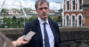 Julian Smith, Northern Ireland's new Secretary of State, was sent a  letter from the bipartisan committee in US set up to protect the Belfast Agreement. Photograph: Rebecca Black/PA Wire