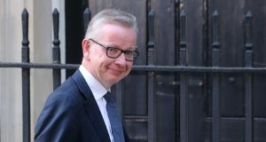 Michael Gove: the one-time supporter of the withdrawal agreement is taking an increasingly hard line. Photograph: Isabel Infantes/AFP/Getty