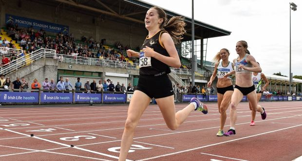 Sarah Healy continues brilliant summer with first senior 1,500m title
