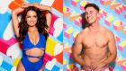 Love Island's Irish finalists: Maura Higgins and Greg O'Shea. Photographs: ITV