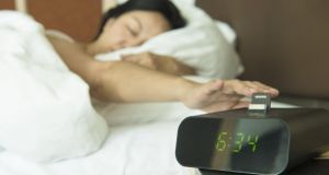 Try to set your alarm for when you actually need to wake up. Photograph: iStock/Getty