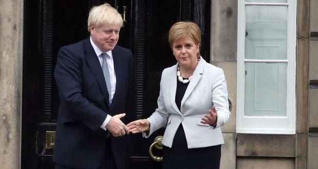 Nicola Sturgeon says Boris Johnson is pursuing a 'dangerous' no-deal Brexit