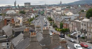 View of Stoneybatter. Photograph: Dara Mac Dónaill