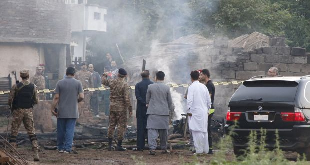 At least 18 killed after Pakistani military plane crashes