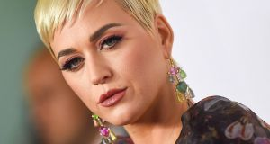 A federal jury in Los Angeles has found that Katy Perry's 2013 hit Dark Horse copied a Christian rap song called Joyful Noise. Photograph: Valerie Macon/AFP/Getty Images.