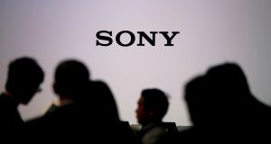 Awaiting Sony chief executive Kenichiro Yoshida ahead of a news conference in Tokyo. Mr Yoshida is currently  looking for ways to spark growth. Photograph: Reuters