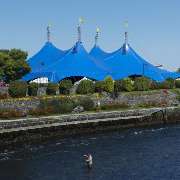 Galway International Arts Festival: the Big Top. Photograph: Andrew Downes/Xposure