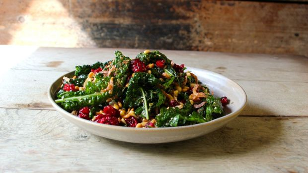 Moorish rainbow chard and pinenuts