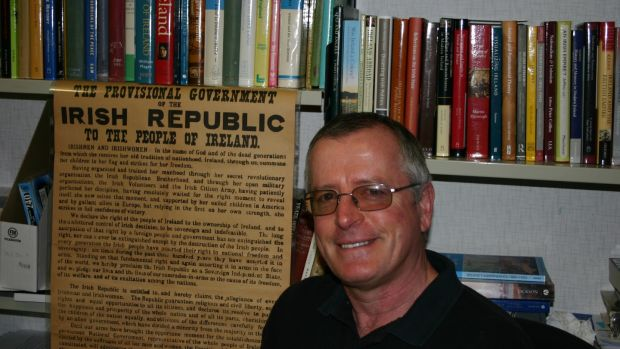 Rory Sweetman, author of Defending Trinity College Dublin, Easter 1916: Anzacs and the Rising