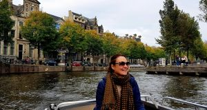 Bairbre Duggan in Amsterdam where she has lived for 20 years