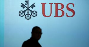 The UBS move underscores how banks in Europe and the US are scrambling to prepare for a protracted spell of lower rates. File photograph: Feline Lim/Reuters