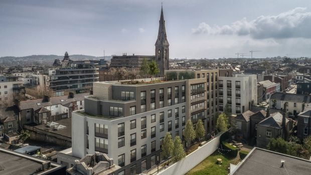 An artist's impression of Bartra Capital Property Group's proposed development at Eblana Avenue, Dún Laoghaire.