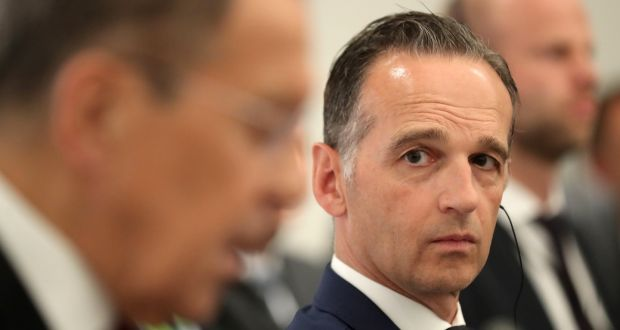Germany's foreign minister Heiko Maas: 'Participation in the American strategy of maximum pressure is out of the question for us.' Photograph: EPA/Friedemann Vogel