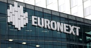 Euronext owns exchanges in Ireland, Belgium, France, the Netherlands, Portugal and the UK, and this year it acquired Norwegian stock market operator Oslo Bors.  Photograph: Reuters