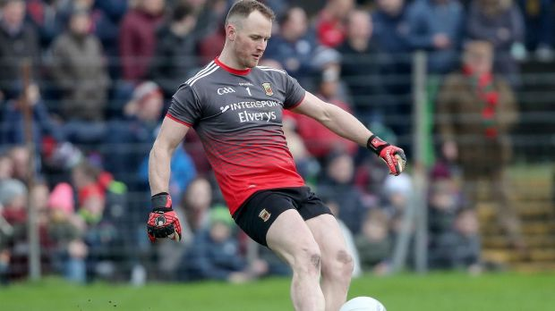 Rob Hennelly: Though Clarke is a top-quality goalkeeper, in terms of distribution, from play and restarts especially, Hennelly offers a lot more. Photograph: Bryan Keane/Inpho
