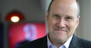 Ivan Yates now has 183,000 listeners on Newstalk, up 30,000 over the past year. Photograph: Cyril Byrne