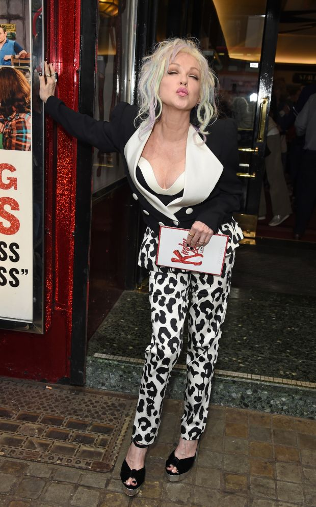 Kinky Boots Gala Night in London hosted by Cyndi Lauper in support of Heads Together at the Adelphi Theatre on May 29th, 2018. Photograph: Getty