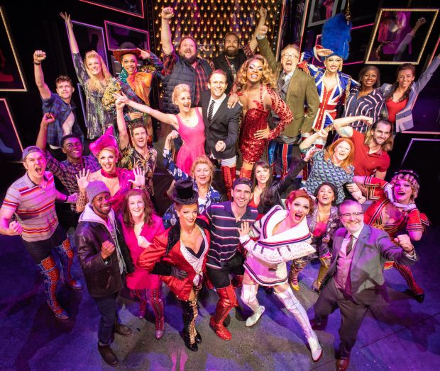 The cast of Kinky Boots: Success is a joint effort, says Lauper