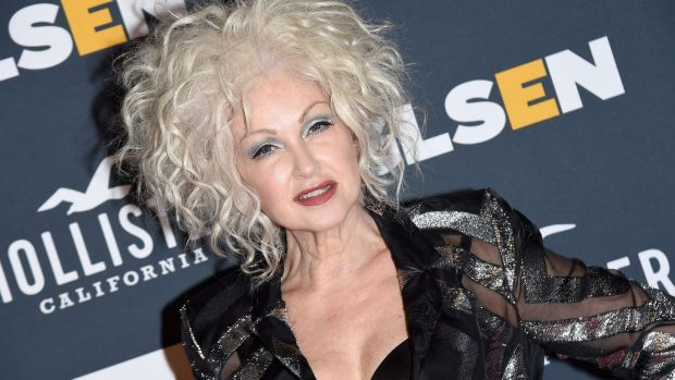 Cyndi Lauper: 'This story is such a good story because it's about two men who couldn't be more opposite but yet they have the same issue with the not living up to your father's expectations.' Photograph: Getty